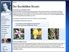 Bachblüten Berater mit LIVE Support