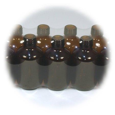 Verpackung mit Folie Braunglas :: FloraCura Versandcenter